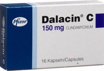 """A droga """"Clindamycin"""": análogos, instruções, preços"""
