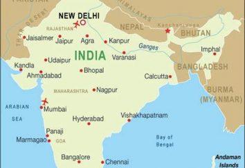 ¿Dónde está la India. Localización de la India antigua