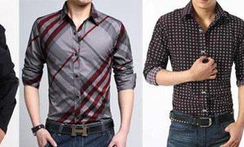 Shopping-Trip: das Hemd unterscheidet sich von den Hemden