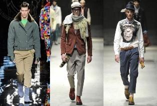 Fancy Pants – la tendance de la saison 2013 de la mode masculine