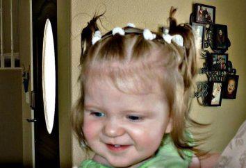 Des coiffures simples pour les filles tous les jours à la maternelle et à l'école (par étapes avec photos) à cheveux moyen
