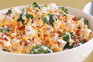 Potrawy z warzyw: kalafior sałatka przepis
