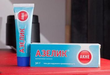 """""""Azelik"""" (crème): mode d'emploi, description, composition et commentaires"""