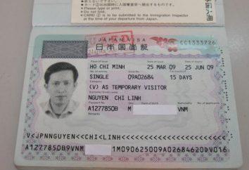 Otwarcie wizy w Japonii. Złożoność zaangażowane