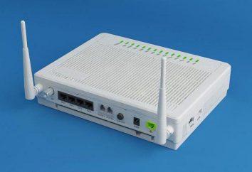 Routery GPON: charakterystyka, ustawienia połączenia