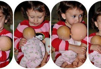 Kleine Puppen für Mädchen: ohne sie überall