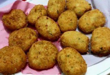 costeletas de frango com queijo: uma receita