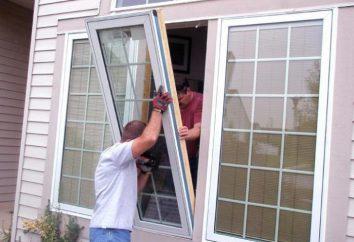 Riparazione e sostituzione di finestre. Vantaggi e svantaggi di modelli in plastica