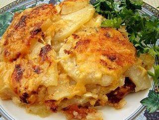 casseruola di patate con carne macinata in multivarka – un piatto preferito dei bambini!
