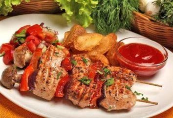 Sekrety smacznego mięsa: jak marynowane kebab shish jagnięcia