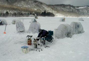 namiot zimą do połowu z ich rąk. Jak zrobić namiot własnymi rękami