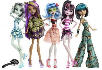 """Como jogar com bonecas, """"Monster High"""" sem prejuízo da mente? E se as crianças precisam de tais brinquedos?"""