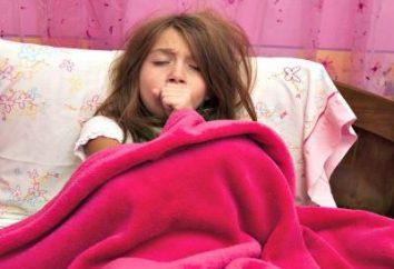 Wie funktioniert Bronchitis: Symptome eines Kindes