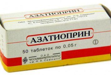 """""""Azatiopryna"""": analogi, cena, przewodnik i opinie"""