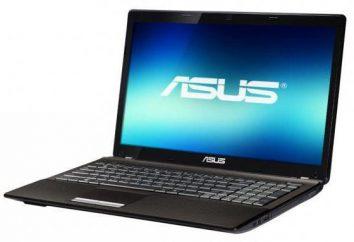 Asus X53U: caractéristiques et description
