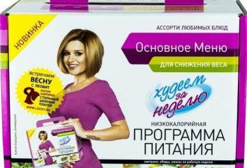 Complexe « Leovit perdre du poids en une semaine. »: Avis, spécifications, Contre-indications