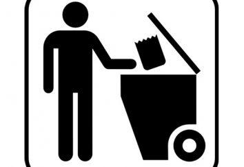 trasformazione dei rifiuti. Riciclaggio rifiuti industriali