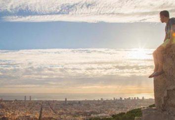 Bei panorami delle città del mondo