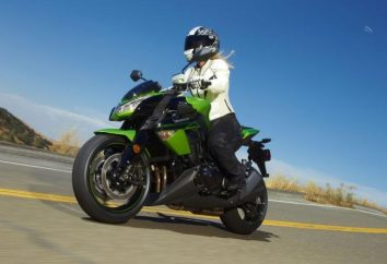 Motocicleta Kawasaki Z1000 – velocidad y diseño deportivo en un modelo