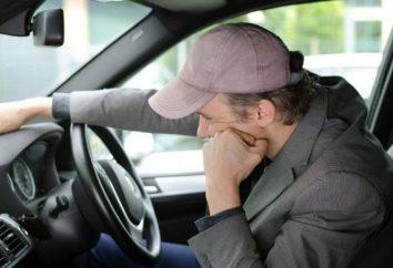 A vida de privação (carteira de motorista)