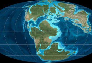 periodo Mesozoico. Era Mesozoica. Storia della Terra