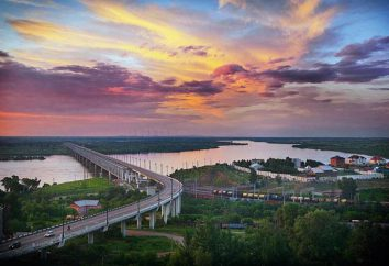 Most przez rzekę Amur: fotografia, długość, budowa