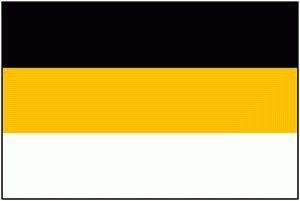 Nero-giallo-bianco bandiera – di chi è?