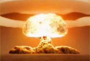 La explosión de la bomba atómica y su mecanismo de acción