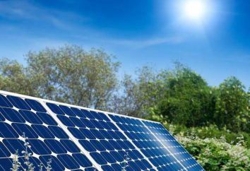 Il principio della batteria solare ed il suo dispositivo