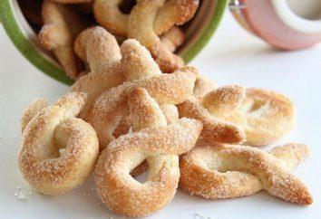 Comment préparer des biscuits italiens sur la bière? recette Torchetti