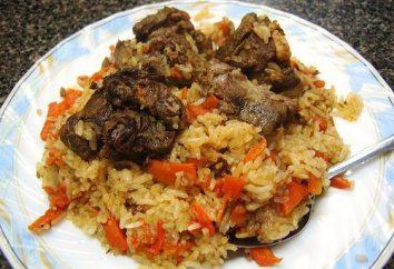 Wie usbekischen Pilaw Lamm zu Hause kochen?