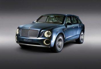 """SUV """"Bentley"""" (Bentley): características e fotos"""