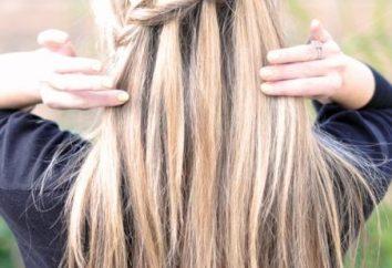 Cascata. Hairstyle romantico o casuale?