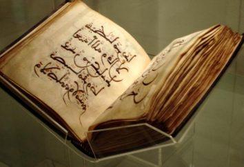 versetti sacri del Corano