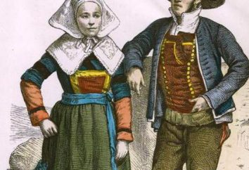costume nazionale francese: una descrizione della varietà e foto
