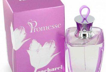 """""""Cacharel Promise"""" – eau de toilette e perfume: uma descrição do sabor"""