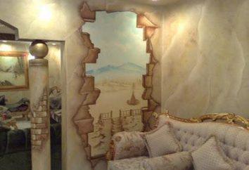 Murais no interior: o preço e fotos
