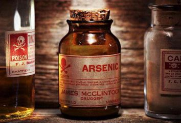 envenenamiento por arsénico: síntomas, causas, primeros auxilios, las consecuencias