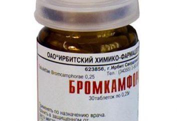 """El medicamento """"Bromkamfora"""": opiniones, instrucciones"""