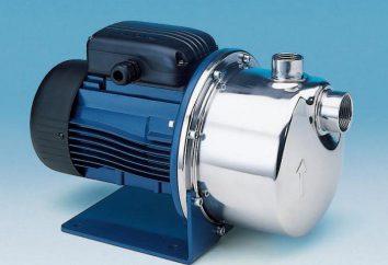 Pompa di aspirazione per l'acqua: le specifiche e recensioni (foto)