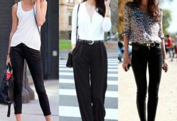 El estilo moderno de la ropa. Foto. Clasificación de los estilos de ropa moderna
