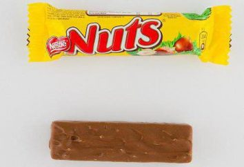 """Orzechy ( """"Nuts"""") – Czekolada z firmy Nestle, który """"ładuje mózg"""""""