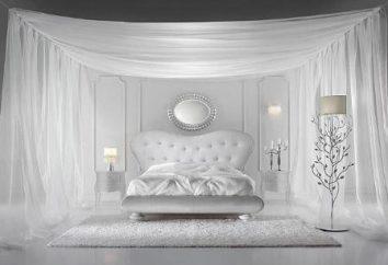 Biała sypialnia: wyrafinowane i eleganckie