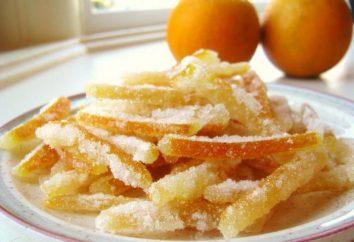 Co gotować z pomarańczy: kandyzowane owoce w domu
