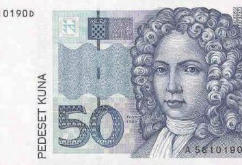 Kuna croata. A história da moeda croata