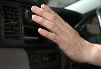 Remplacement du radiateur de climatisation mains