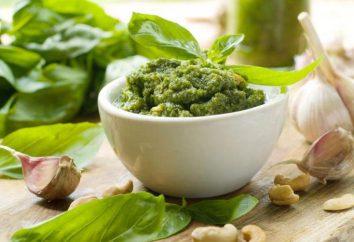 sauce pesto au basilic italien: recette