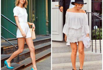 Od czego nosić białe spodenki? Od co się ubrać białą koronką letnie szorty? zdjęcie