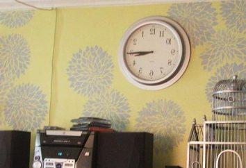 Schablonen für Wände mit seinen eigenen Händen, wie der einfachste Weg, um die Wände zu dekorieren