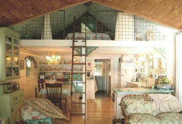 Style loft dans les appartements modernes